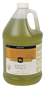 Lotus Touch Grapeseed Massage Oil