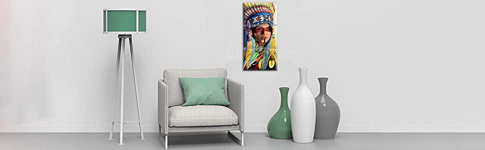 native american home decoration