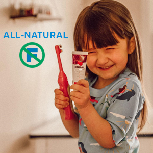 all-natural fluoride free