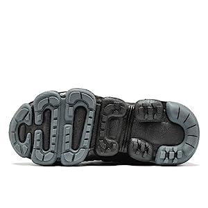 High-grade anti-skid air-cushion sole
