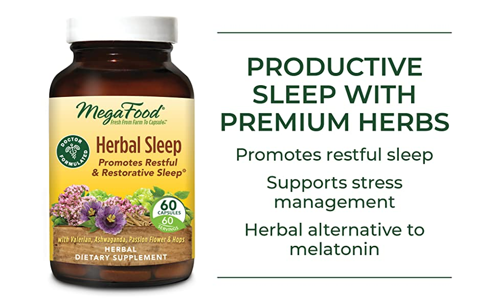 Productive sleep with premium herbs
