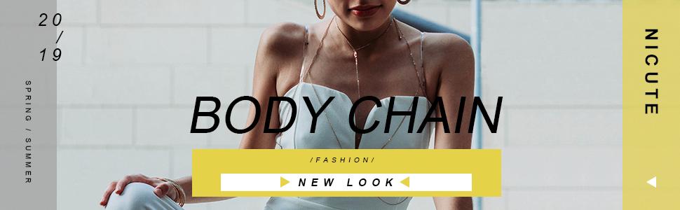 Fashion Summer Beach Body Chain Jewelry