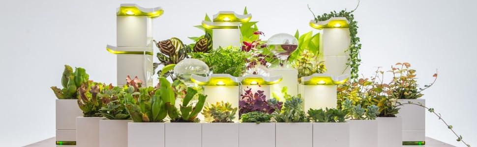 self watering pot pots for indoor plants garden tower greenery decor indoor planter