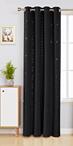 rhombic pattern blackout curtains