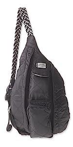 mini rope puff sling bag