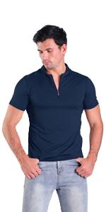 dark navy mens henley shirts