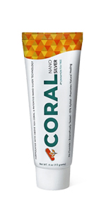 Coral White Nano Silver Cinnamon Tea Tree