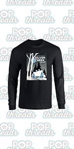 Stephen King Rules Horror Movie Book Merchandise Full Long Sleeve Tee T-Shirt