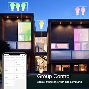 control multi lights with one command