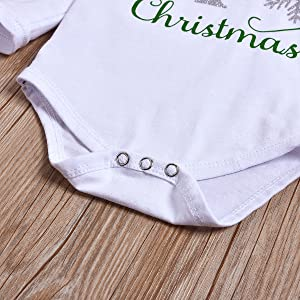 Baby Girls Christmas Outfit