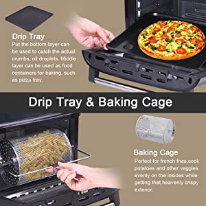 Drip Tray and Baking Cage