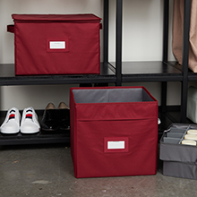 Closet storage boxes