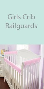 girls crib railguards