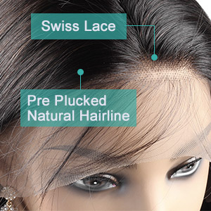 lace frontal wigs with baby hair