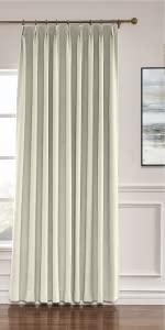 Linen Pinch Pleat Curtain