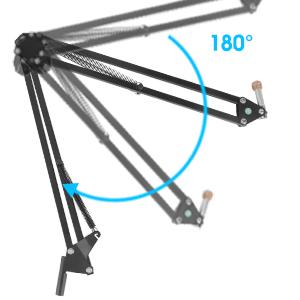 suspension scissor arm