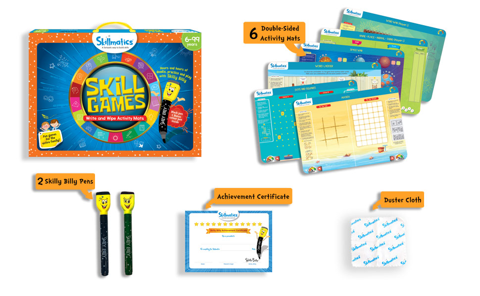 SKILL GAMES LEARNING TOYS