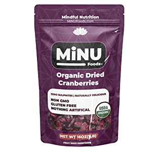 organic cranberries, dried fruit, cranberries, organic