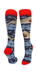 Great White Shark Soccer Socks