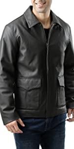 Landing Leathers Men's Hero Indy-Style Leather Jacket