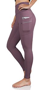 ODODOS high waist yoga leggings with dual pockets