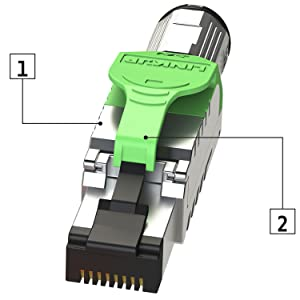 Cat 6 a connector adapter plug lan ethernet snagless fluke tested rj45 5 e poe+ 10g 40g cable patch