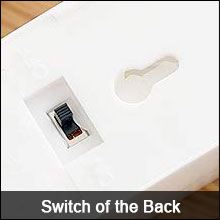 Power Switch of Back