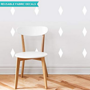 diamond adult fabric wall decal