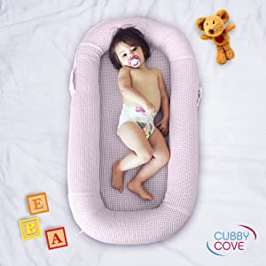 CubbyCove Cosleeping Pod Baby Lounger