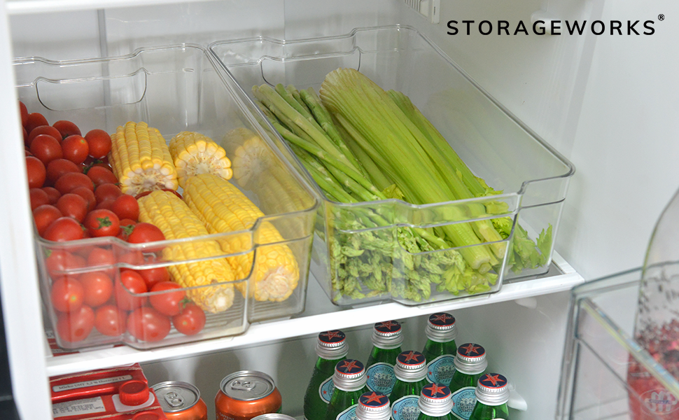 StorageWorks Fridge Bins