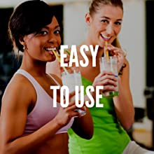 two women enjoying organic bone broth protein shakes