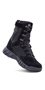 FREE SOLDIER Tactical Side Zip Boots