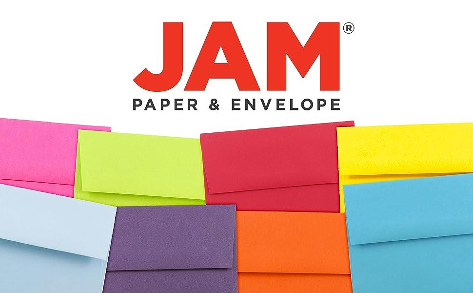 jam paper A2 colored envelopes