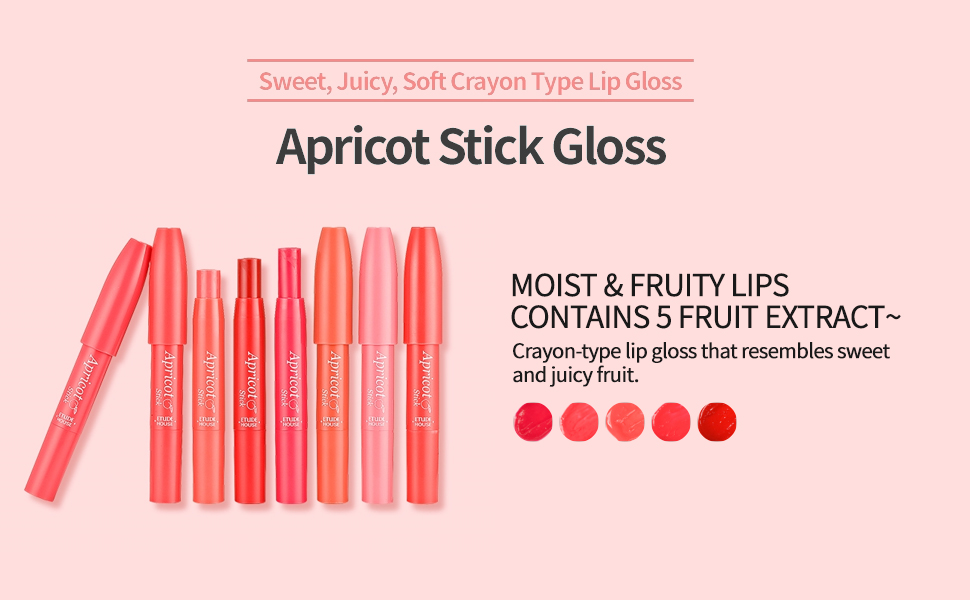 Apricot Stick Gloss