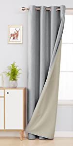 lined blackout curtains