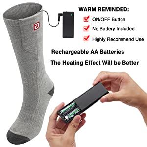 Heated insole heating feet warmer