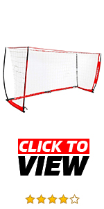 PowerNet 14 ft x 7 ft Portable Soccer Goal is perfect for training anywhere.