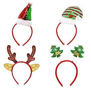 christmas party headbands