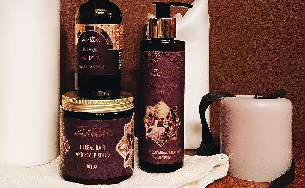 natural hair care scalp scrub hair oil essential oils natural organic hair serum shampoo herbal