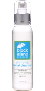 Block Island Organics Organic Purifying Facial Cleanser