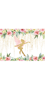 Fairy Flower Backdrop