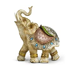 """5.5"""" Lucky Wealthy Elephant Statue"""
