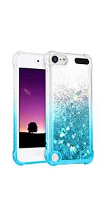 ipod touch 5th generation case glitter liquid