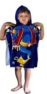 hoodies towel baby shark bath swimming pool towels toddler robe boy kid swim coverup hooded poncho