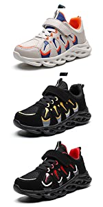 boys athletic running shoes