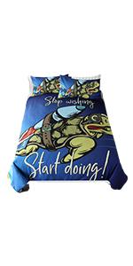 Sleepwish Space Turtle Bedding Set
