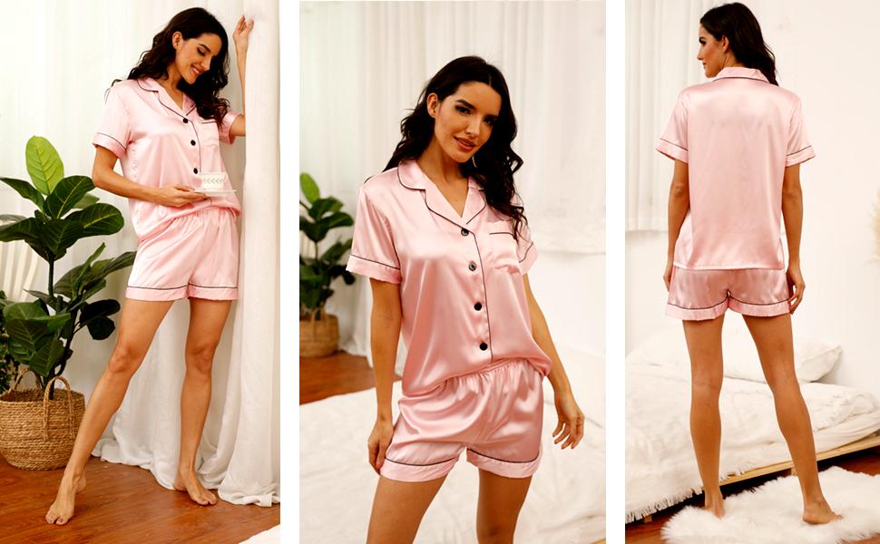 pink silk pajamas silk pajama set satin pajama set satin pj champagne pajamas