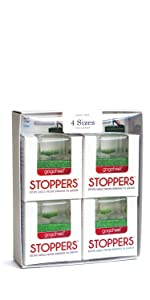 STOPPERS Heel Protector for grass - 4 pairs