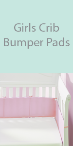 girls crib bumper pads