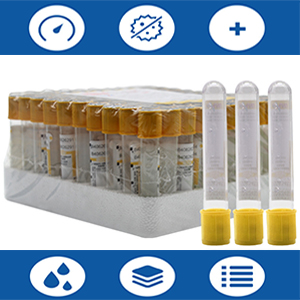 alt=''Yellow top blood coeection tubes''